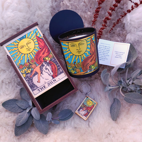 The Sun Tarot Ritual Set
