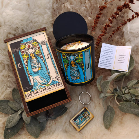 The High Priestess Tarot Ritual Set