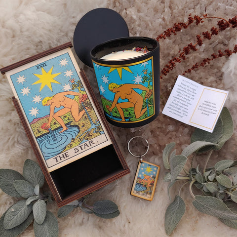 The Star Tarot Ritual Set