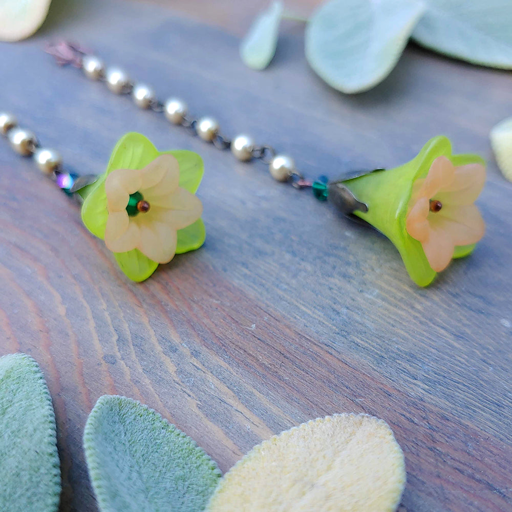 Pearl & Prickly Pear Ear Bells