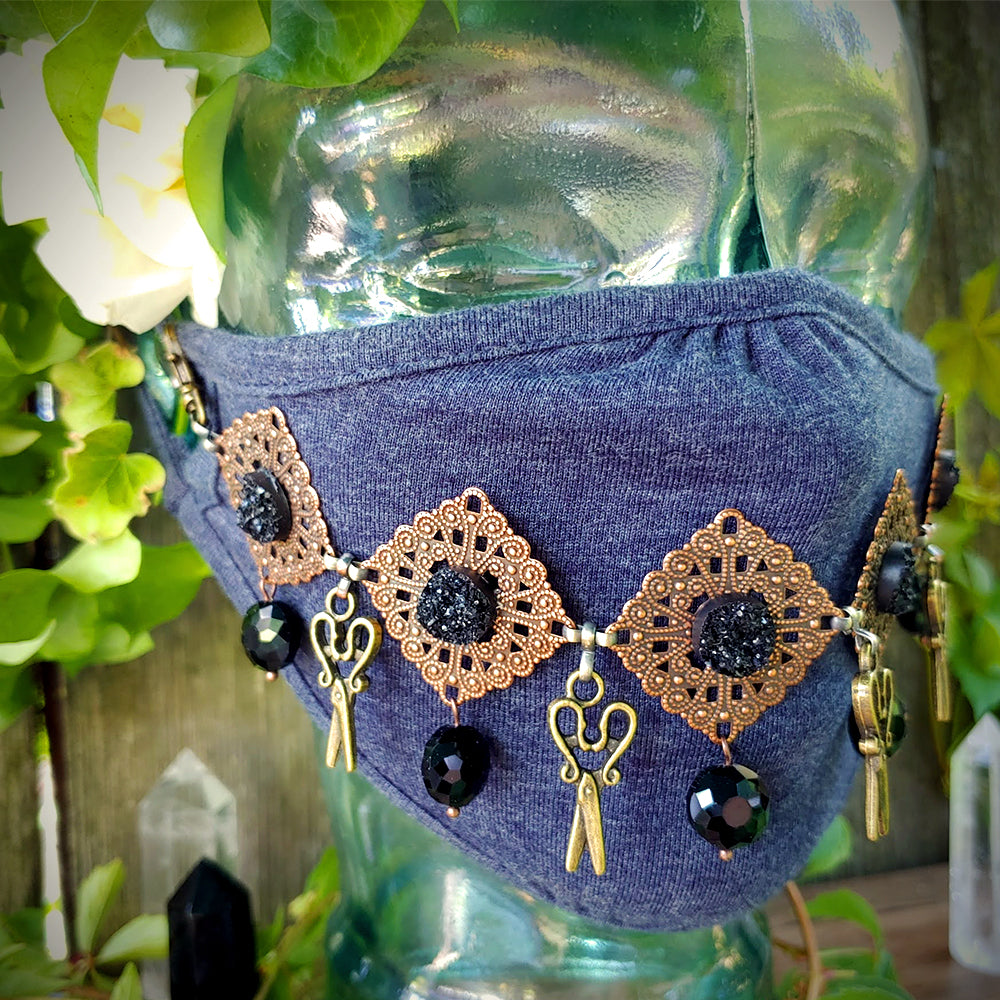 Black Magic Maker Face Mask Jewelry
