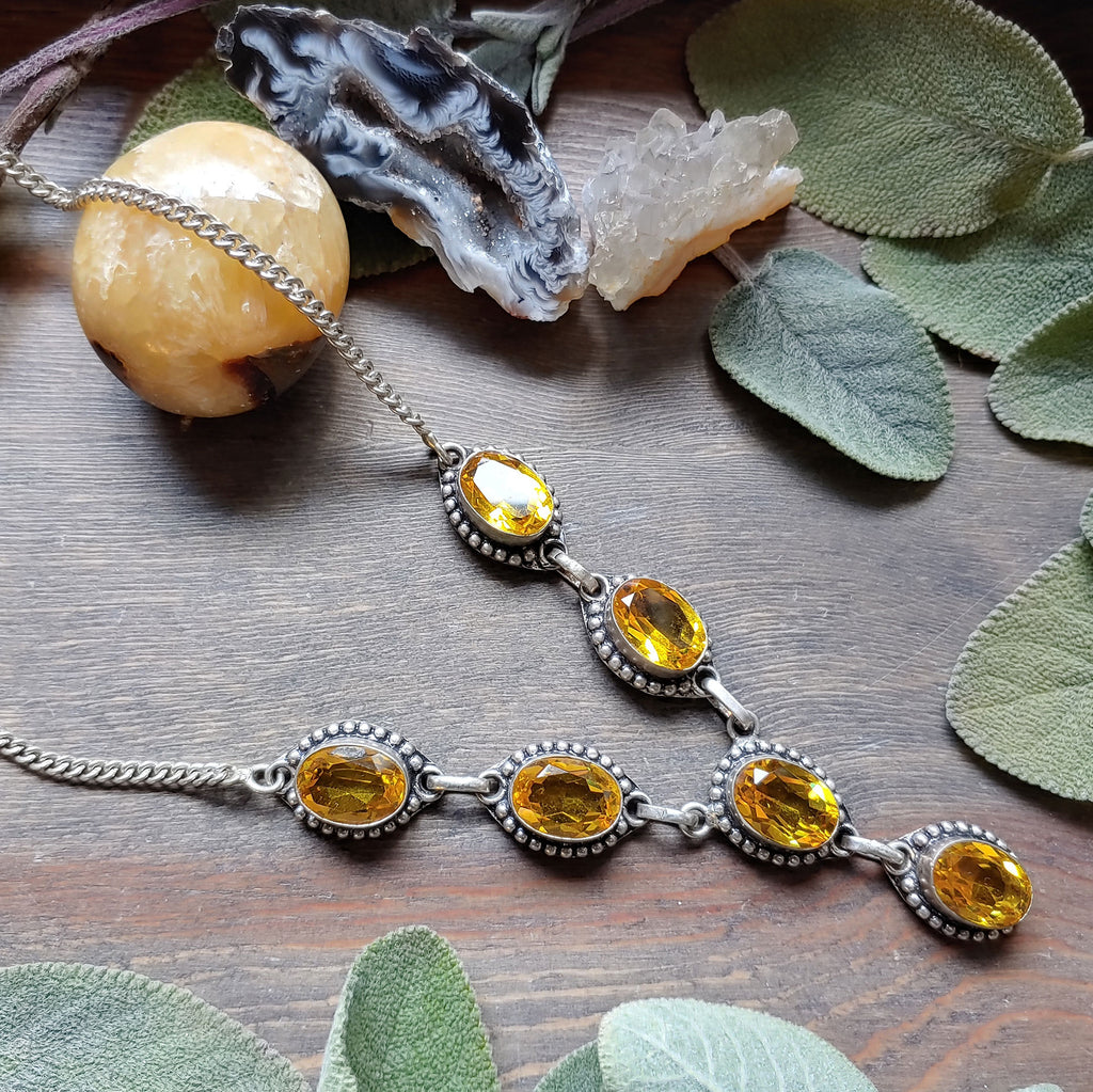 Citrine Queen Necklace