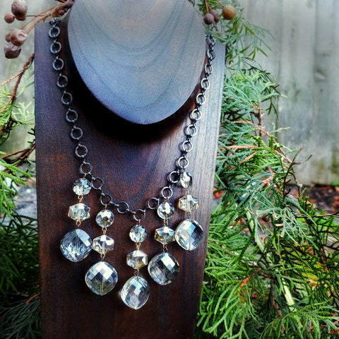 Sparkle & Ice Statement Necklace