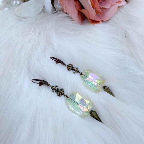 Opalescent Brocade Earrings