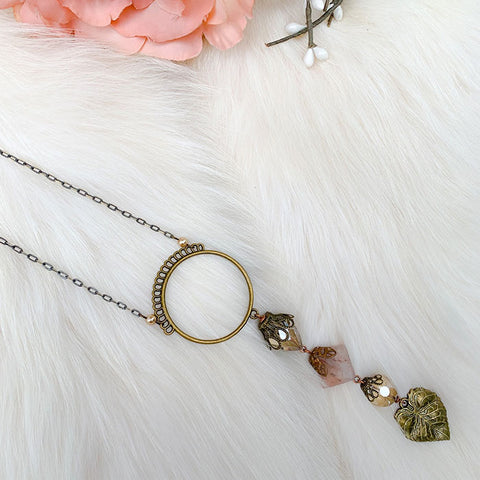 Botanical Rosé Necklace