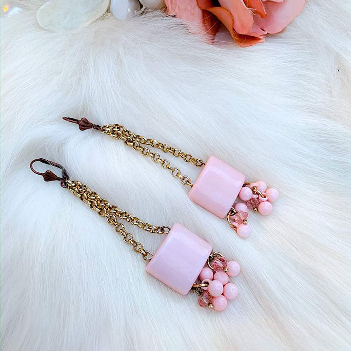 Cotton Candy Crush Earrings