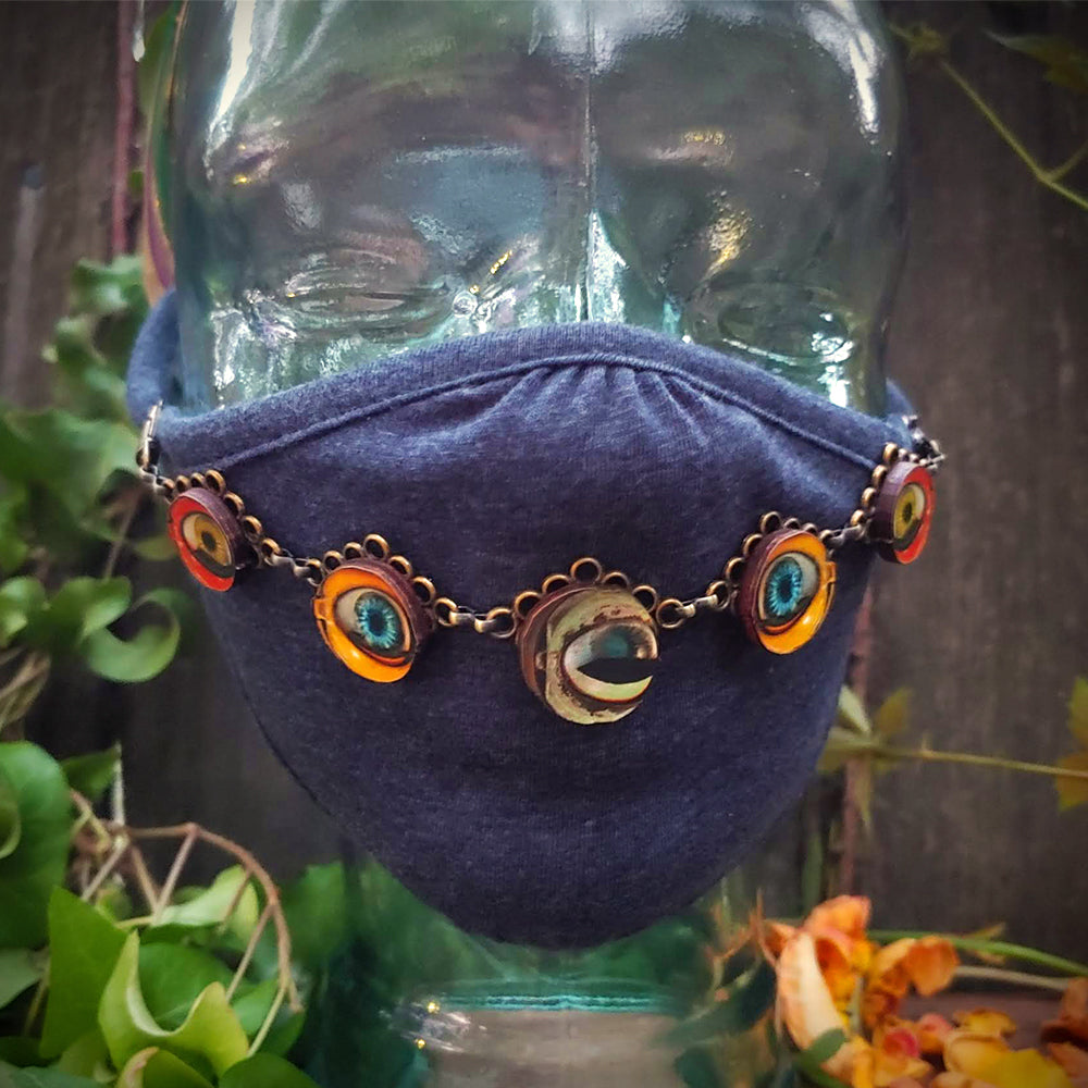 Eyes on the Prize Face Mask Jewelry