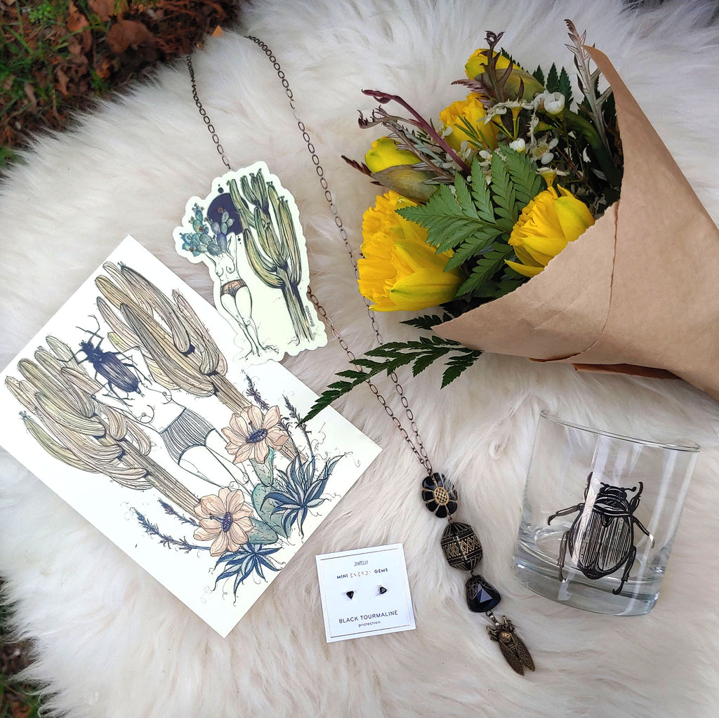 Sacred Scarab & the Prickly Pair Gift Set