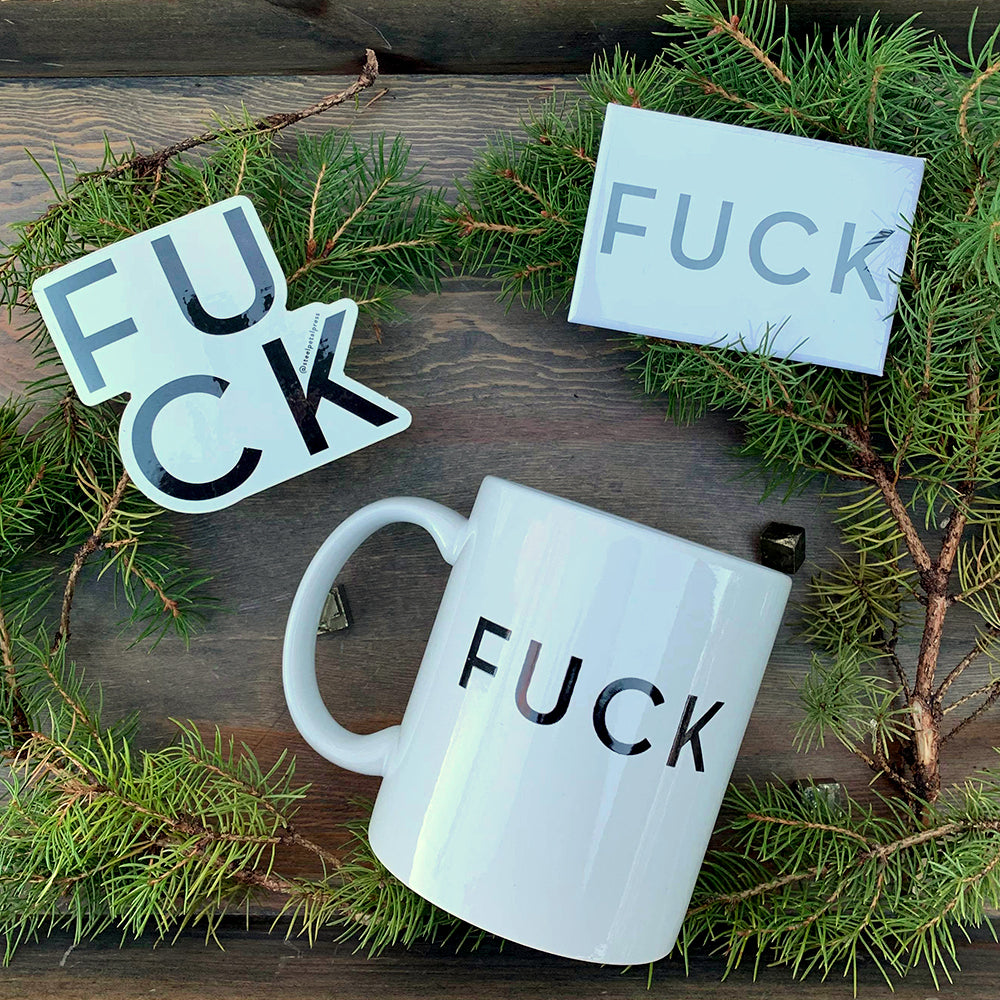 FUCK Mug Care Pack