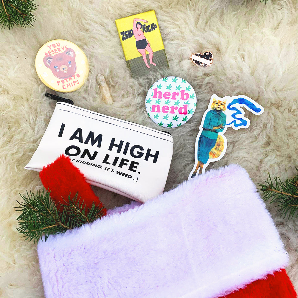 High on the Holidays Stocking