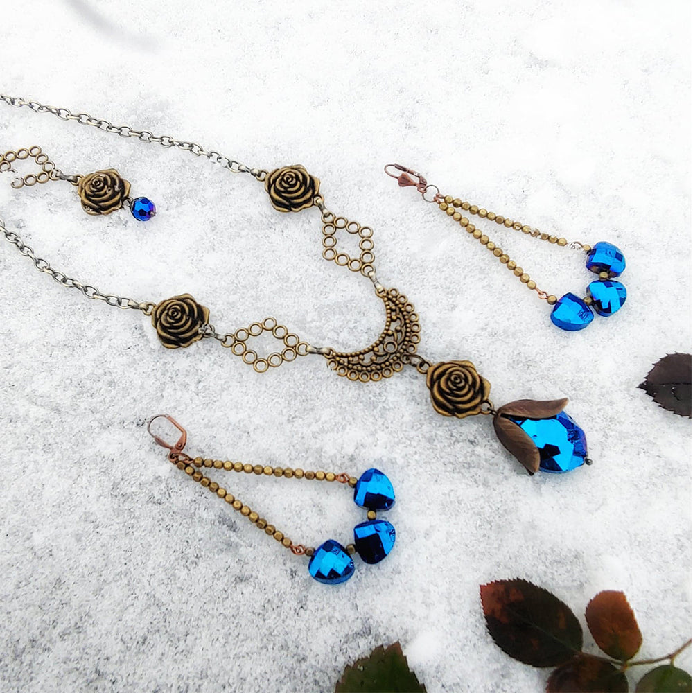 Ice Queen & Whimsical Waterfall Jewelry Set