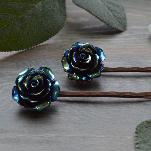 Midnight Metal Blooms