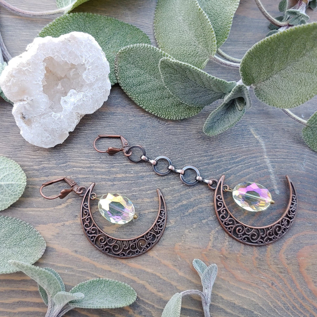 Copper Moon Ear Adornments
