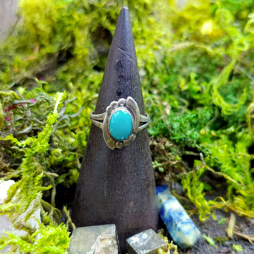 Energy Flows Turquoise Ring