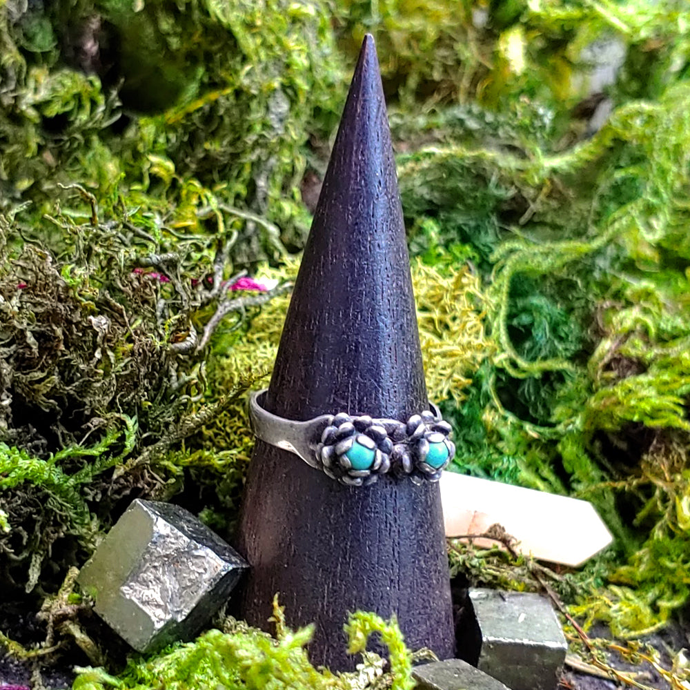 Infinite Magic Turquoise Ring