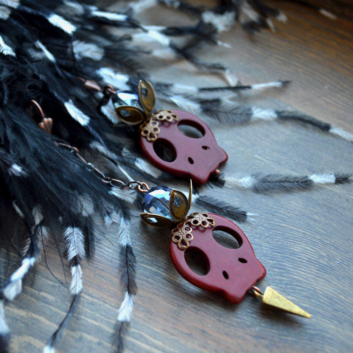 Jewel of Denial Asymmetry Earring