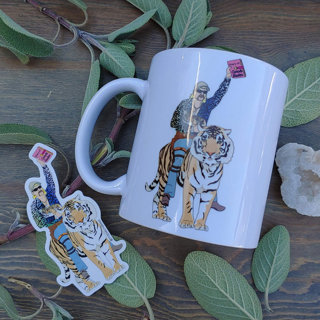 Tiger King Mug Care Pack
