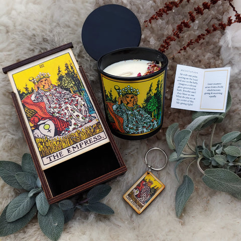 The Empress Tarot Ritual Set