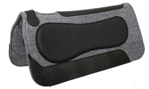 Wool Blend Contoured Saddle Pad - SK Tack & Supply