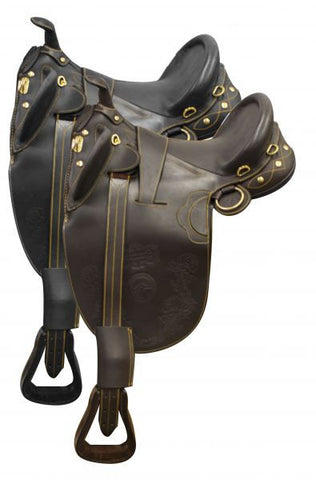 Handmade Softie Leather Australian Saddle - SK Tack & Supply - 1