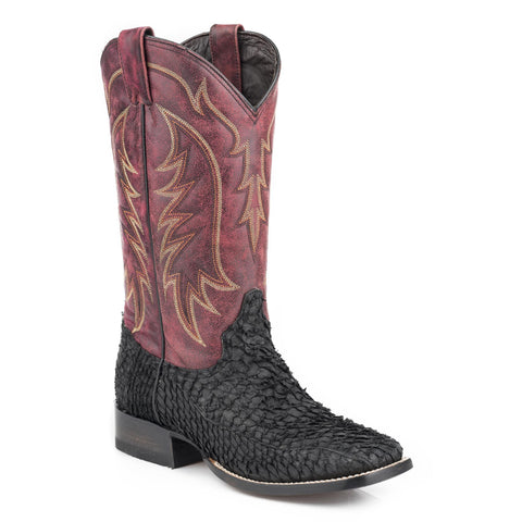 Stetson Amazon Night Boot Black - SK Tack & Supply