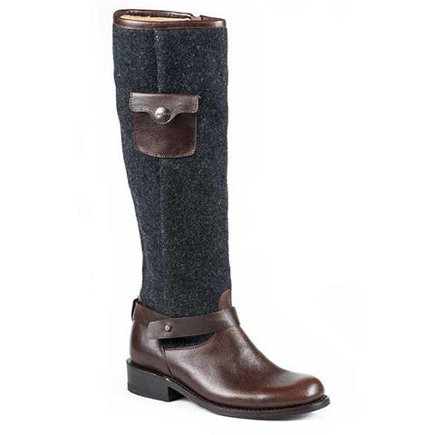 Stetson Adriana Round Toe Boot Brown - SK Tack & Supply