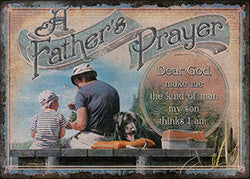 A Father's Prayer Sign - SK Tack & Supply