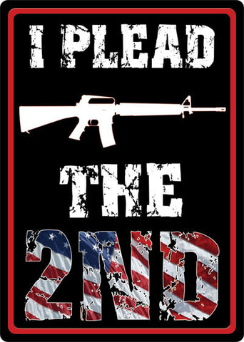 I Plead the 2nd Sign - SK Tack & Supply