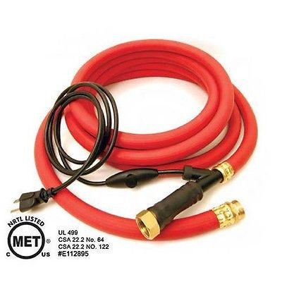 K&H Farm Essentials Thermo-Hose Heated Rubber Hose 60' - SK Tack & Supply