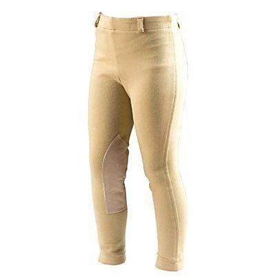 On Course Cotton Naturals Kids Adjustable Waist Cuff Jodhpurs - SK Tack & Supply