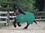 Solaris 1200D Medium Weight Draft Blanket Hunter Green - SK Tack & Supply - 1