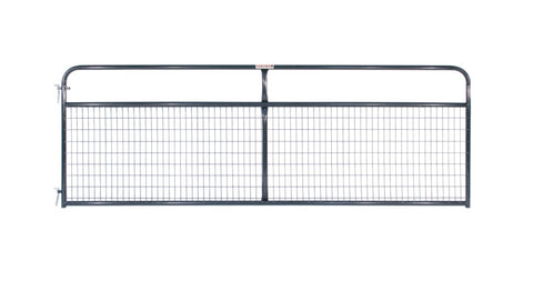2x4 Wire Filled Gate Gray - SK Tack & Supply