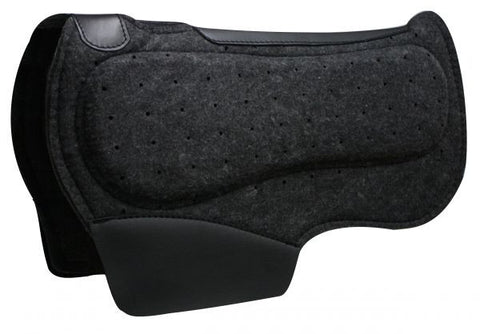 Airflow Barrel Saddle Pad w/ Shock Absorbing Bars - SK Tack & Supply