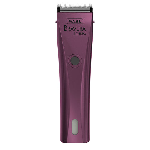 Wahl Bravura Lithium Clipper Purple - SK Tack & Supply