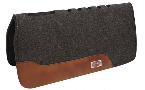 100% Wool Shock Absorbing Contoured Saddle Pad - SK Tack & Supply