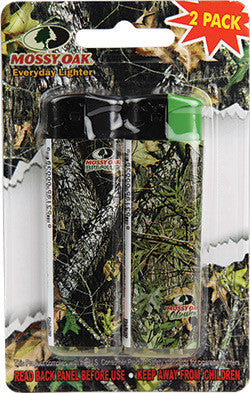 Mossy Oak Refillable Lighter 2 Pack - SK Tack & Supply