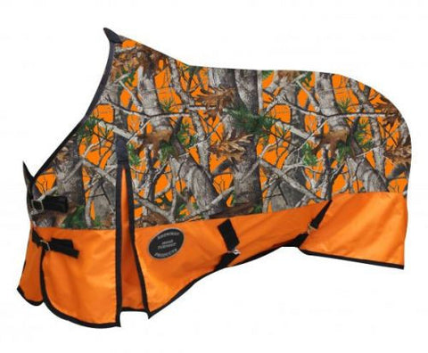 Real Oak Camo Turnout Sheet 1200D 0g - SK Tack & Supply - 2