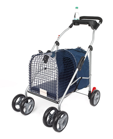 "Kittywalk 5th Ave Luxury Pet Stroller SUV Blue 31"" x 16"" x 37.5"""