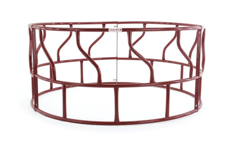 3-Piece S-Bar Red Hay Feeder - SK Tack & Supply