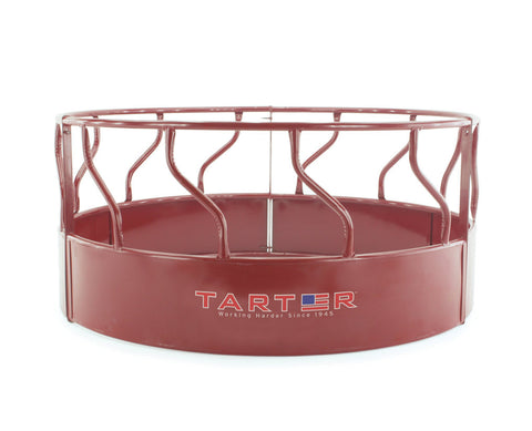 3-Piece S-Bar Red Hay Feeder with Metal Hay Saver - SK Tack & Supply
