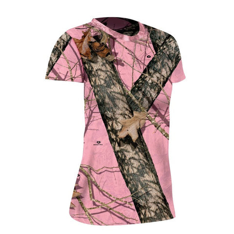 Mossy Oak Burnout Ladies Tee - SK Tack & Supply - 1