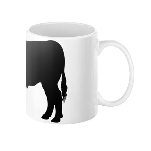Black Angus Steer Mug - SK Tack & Supply - 3
