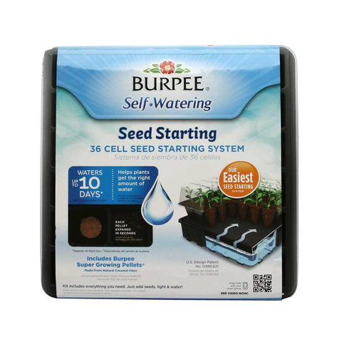 Burpee 36 Cell Self-Watering Seed Starting Kit - SK Tack & Supply