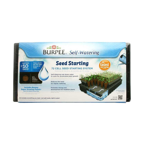 Burpee 72 Cell Self-Watering Seed Starting Kit - SK Tack & Supply