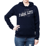 Farm Life Fleece Cotton Hoodie - SK Tack & Supply - 8
