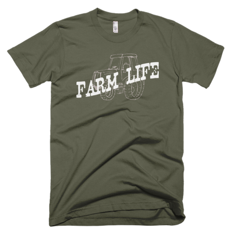 Farm Life Men's Super Soft Jersey T-Shirt - SK Tack & Supply - 1