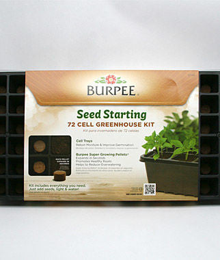 Burpee 72 Cell Greenhouse Kit - SK Tack & Supply - 1