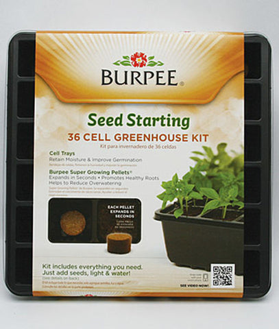 Burpee 36 Cell Greenhouse Kit - SK Tack & Supply