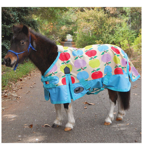Pony Poppins Apple Expressions Blanket - SK Tack & Supply - 1