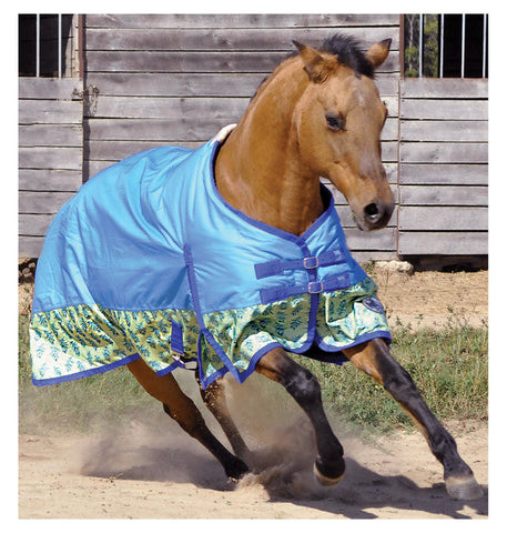 Peacock Expressions 600D Turnout Sheet - SK Tack & Supply - 1